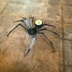 Steampunk Spider with Gauge