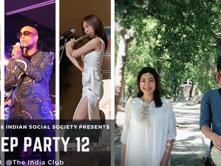 The India Club & Indian Social Society Presents THE DEEP PARTY 12