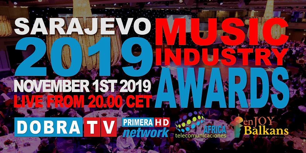 SARAJEVO MUSIC AWARDS 2019 GALA / MUZIČKA NAGRADA SARAJEVO 2019