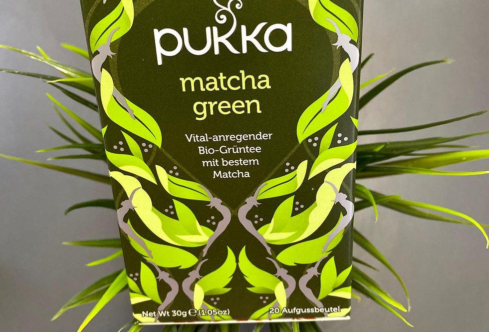 Pukka zaļā un mačas tēja