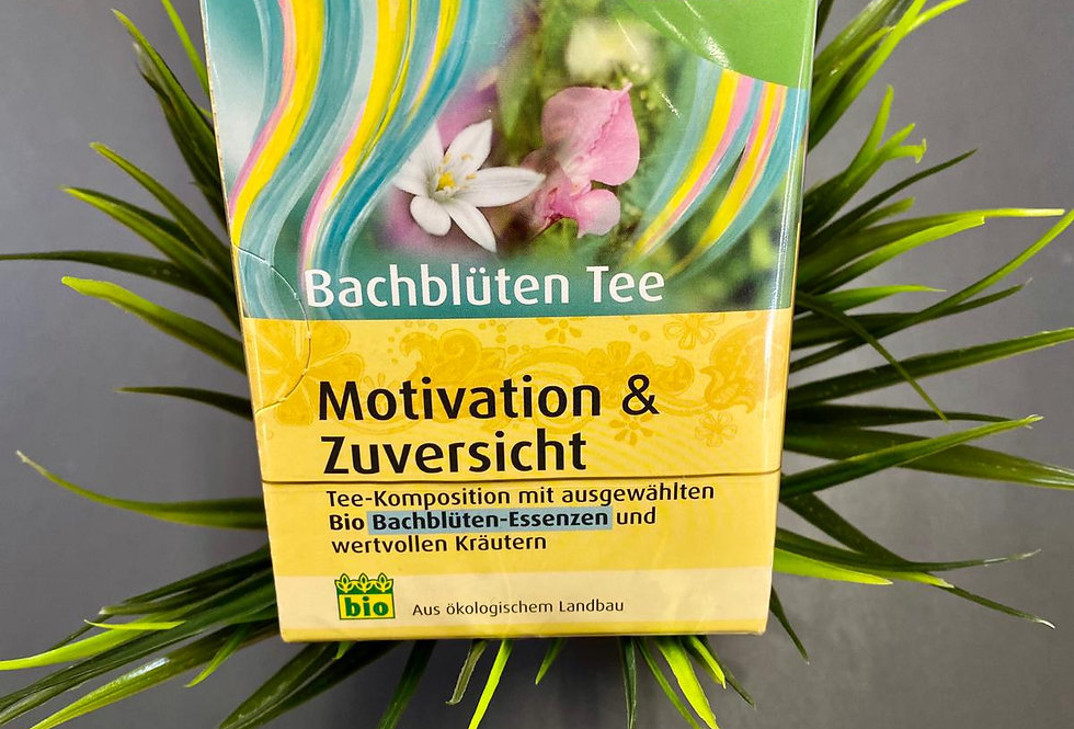 Tēja motivācijai ar baha ziedu esencēm