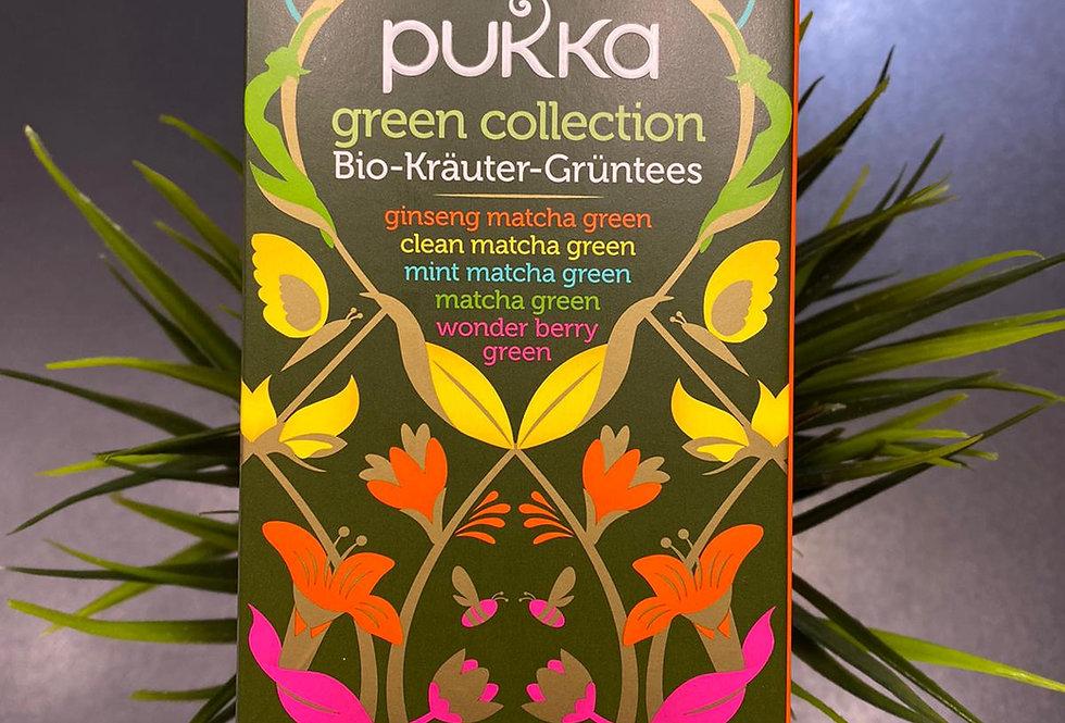 Pukka zaļo tēju kolekcija