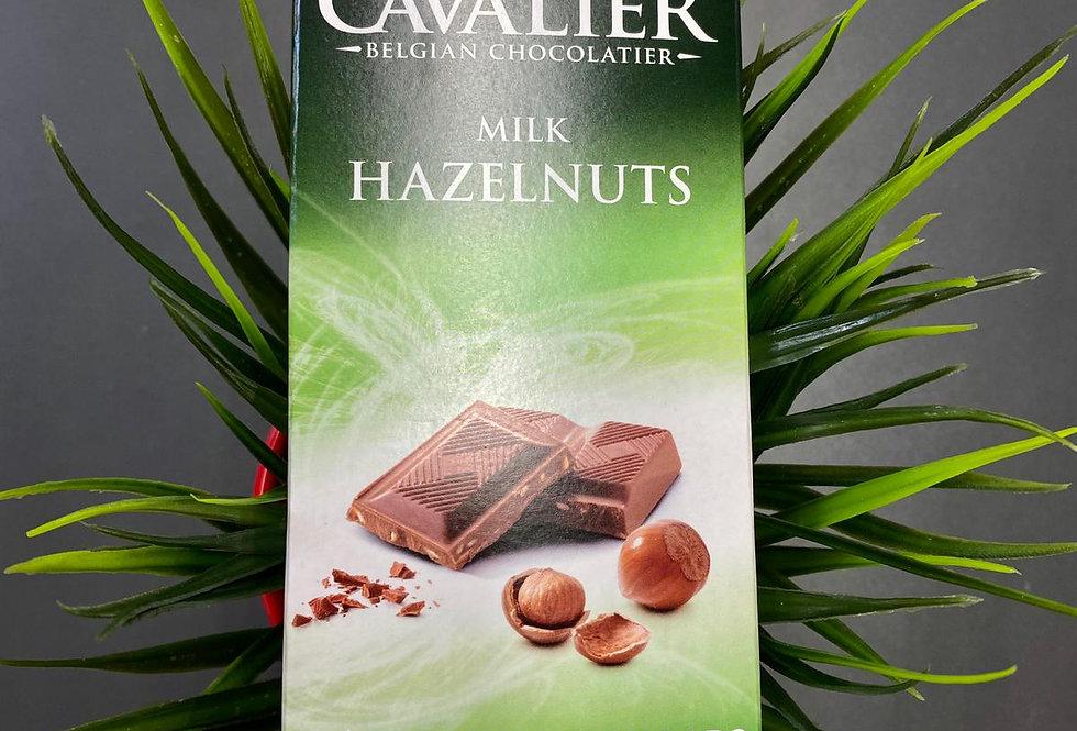Beļģu šokolāde ar lazdu riekstiem