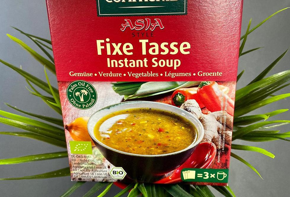 Ātri pagatavojamā Āzijas zupa