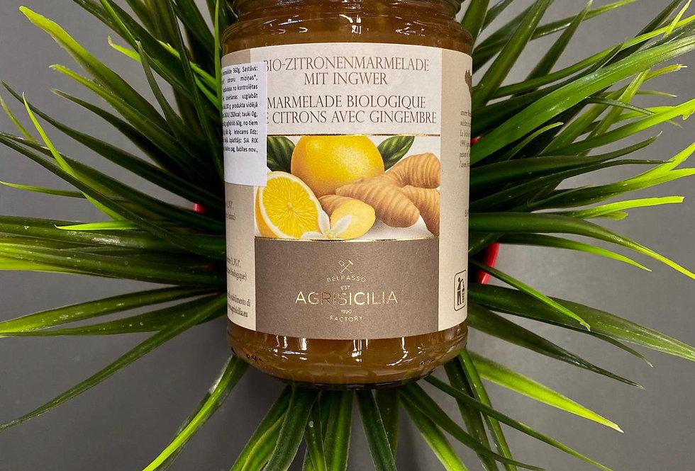 Citronu un ingvera marmelāde 360g