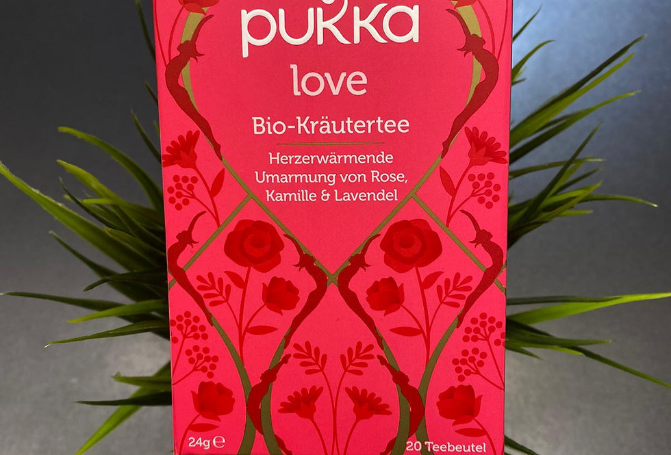 Pukka mīlestības tēja