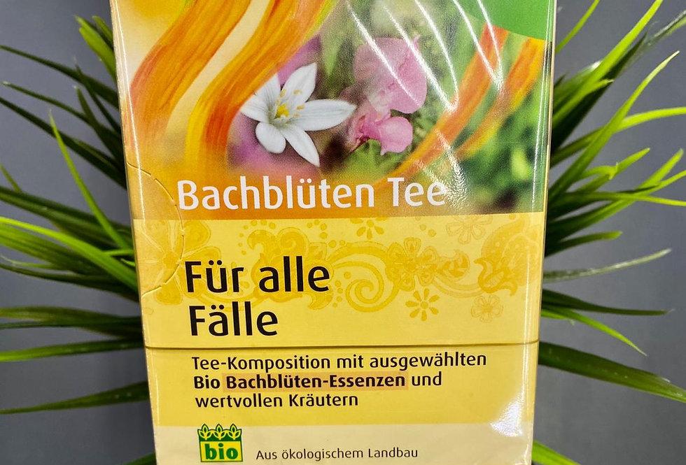Tēja dažādām sajūtām ar baha ziedu esencēm