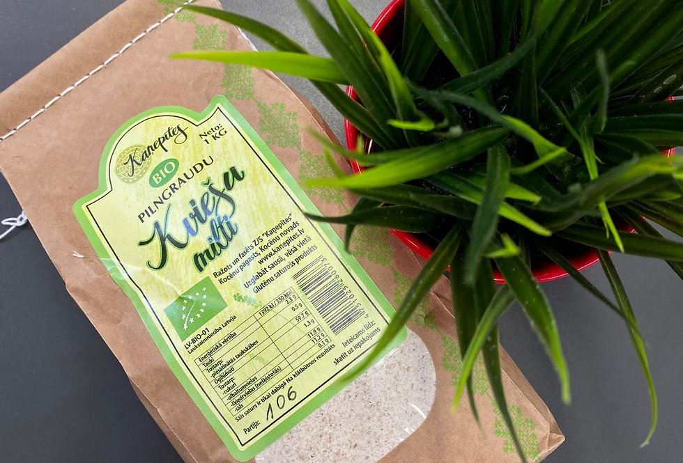 Pilngraudu kviešu milti 1kg