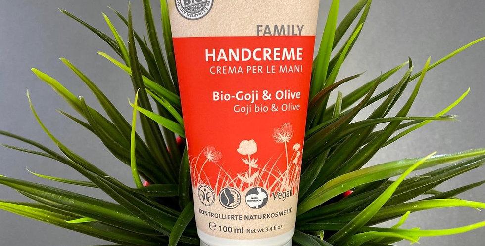 Bio goji un olīvu roku krēms