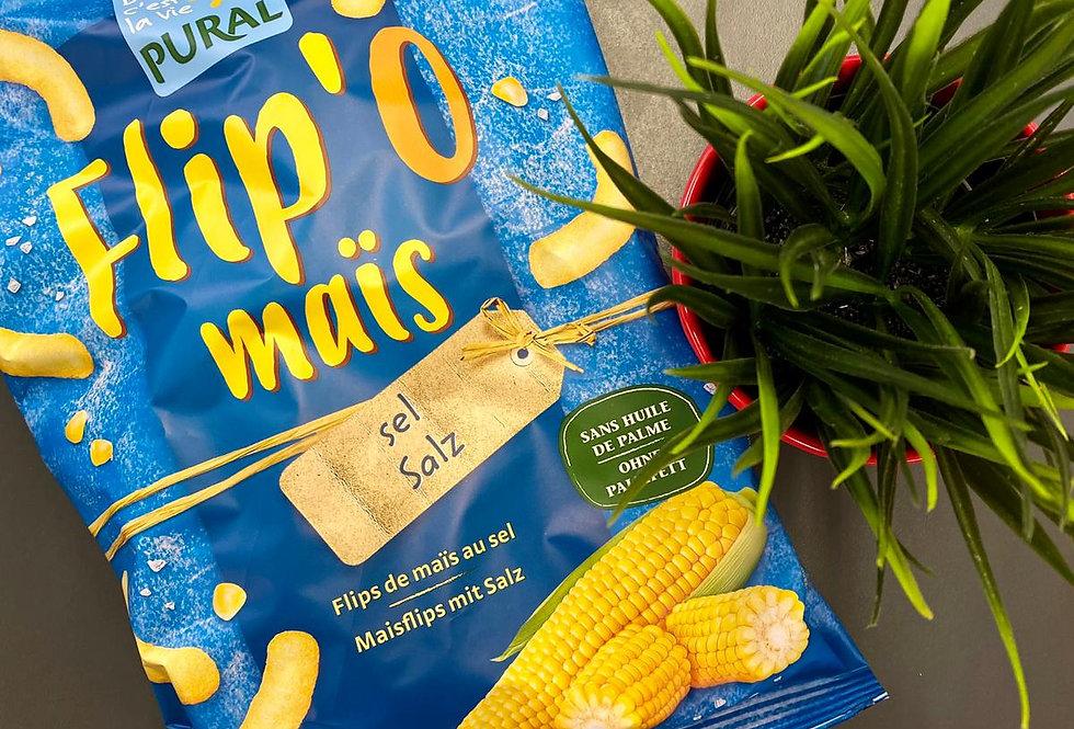 Kukurūzas nūjiņas sāļās