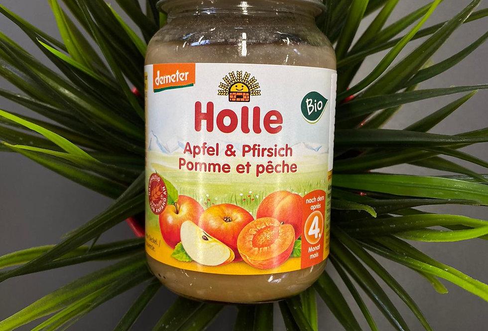 Ābolu-persiku biezenis