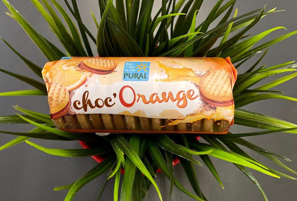 Cepumi ar kakao un apelsīnu pildījumu