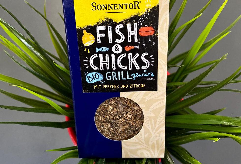 Garšvielu maisījums grillēšanai zivij un vistas gaļai