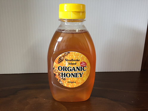 Stradbroke Island Organic Honey Sqeeze