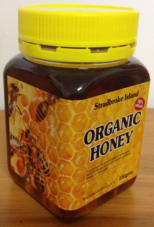 Stradbroke Island Organic Honey 500g