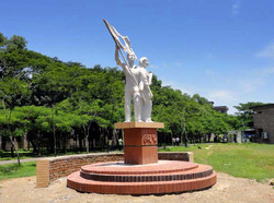 Chetona 71: a monument in SUST campus, established to commemorate the liberation war martyrs