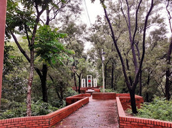 Shaheed minar: world's highest monument in the memory of the language martyrs located in SUST