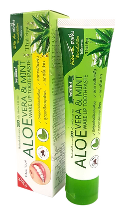 Naturerich Aloe Vera and Mint Wake Up Toothpaste