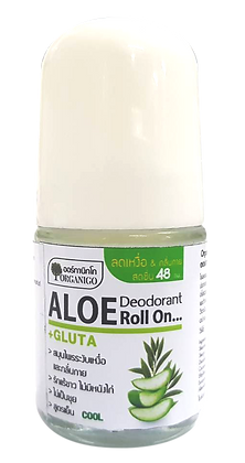 Organigo Aloe Deodorant Roll On 25 ml.
