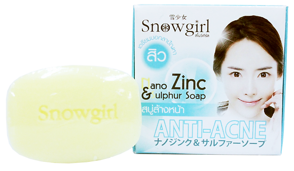 SNOWGIRL NANO ZINC & SULPHUR SOAP