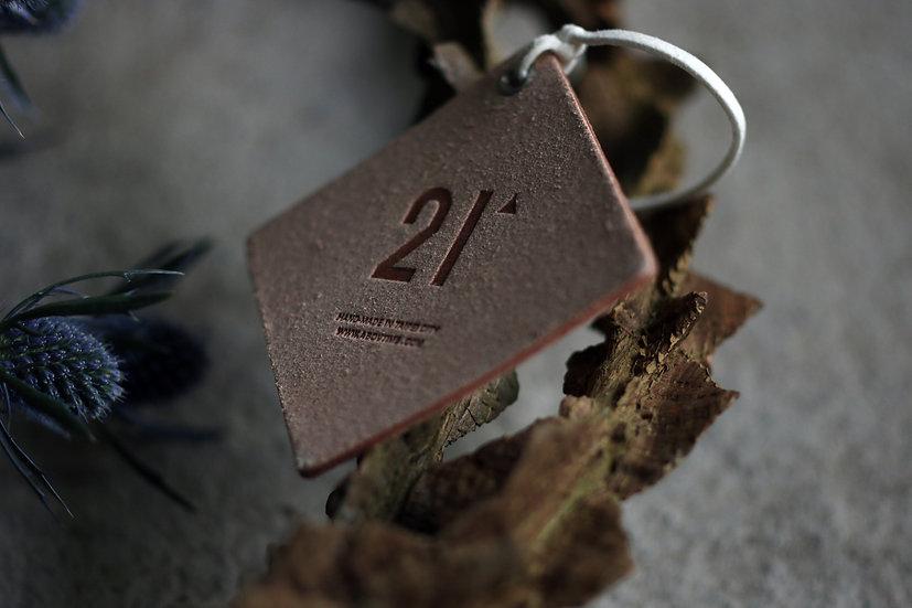 21' 香氛皮革吊牌