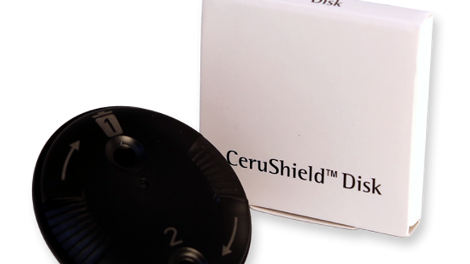 CeruShield Disk wax filters