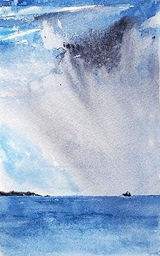 05 aquarelle gestuelle paysage rapide 5.
