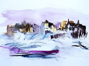 05 aquarelle gestuelle paysage rapide 6.
