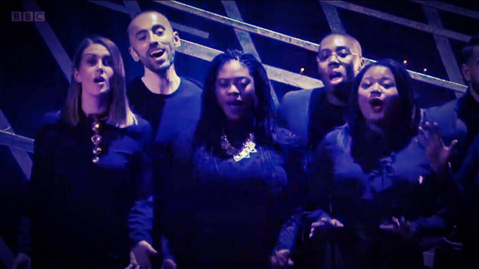 House Gospel Choir at The Baftas