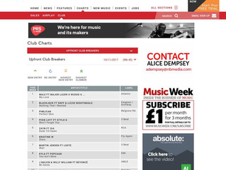No.2 on Music Week?