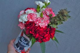 Pabst mini bouquet #1.JPG