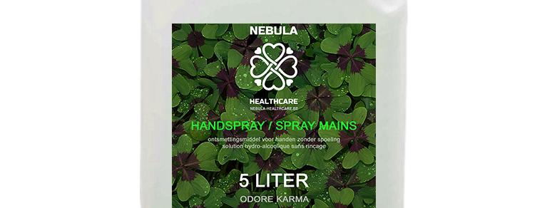 Handspray - 5 liter - 8€/liter