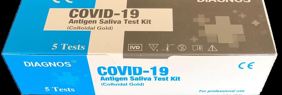 NIEUW, geen vervelende swab : Speeksel sneltest Covid-19 (prijzen inclusief BTW)
