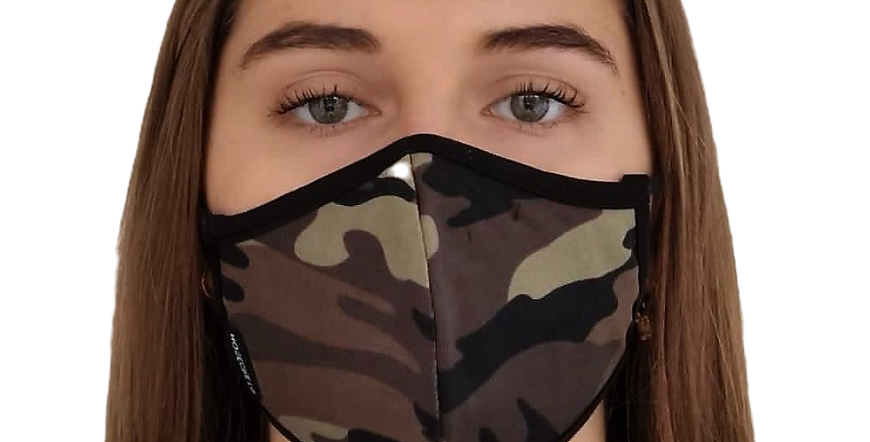 masque de visage camo