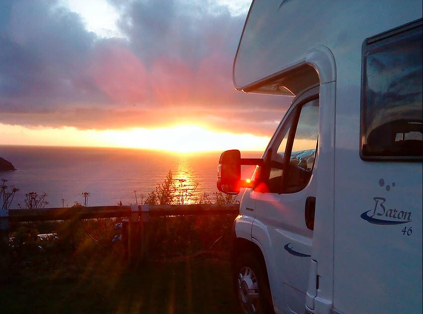 Disfrute de las mejores puestas de sol