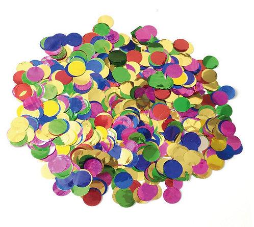 Конфетти цветное