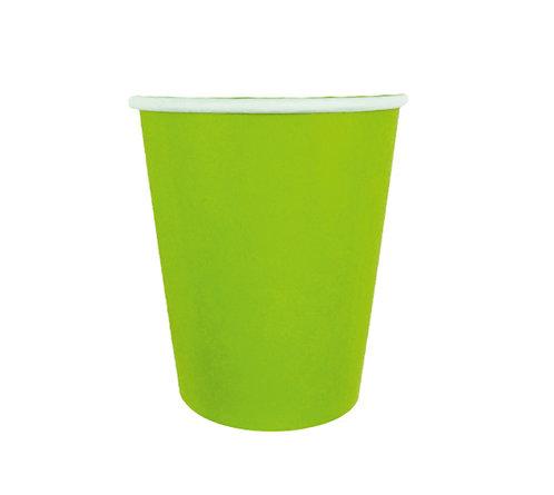 Стаканчики бумажные зеленые