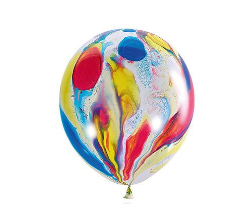 Воздушные шарики многоцветные