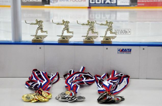 Медали на Турнир для Детской спортивной школы Penguins Hockey School