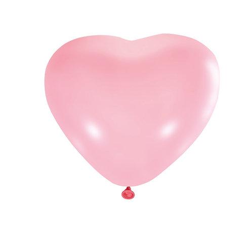 Воздушные шарики сердечки
