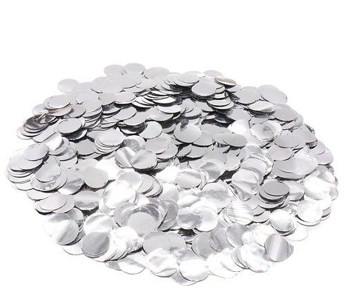 Конфетти серебрянное