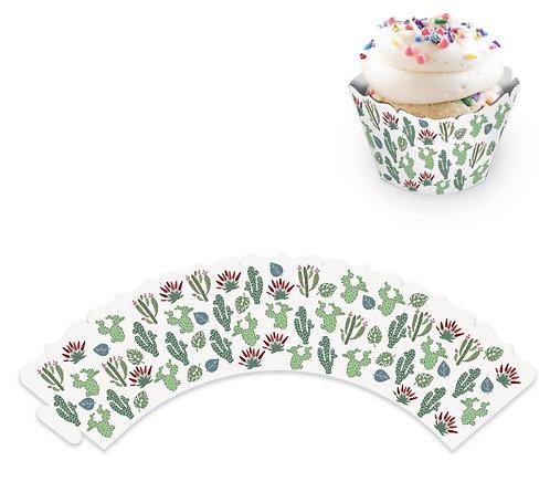 """Юбочки для украшения кексов и пирожных """"Сафари-парк"""", в наборе 8 шт"""
