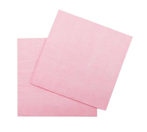 Салфетки бумажные розовые