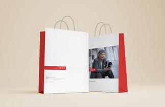 Бумажный пакет для бренда ROY