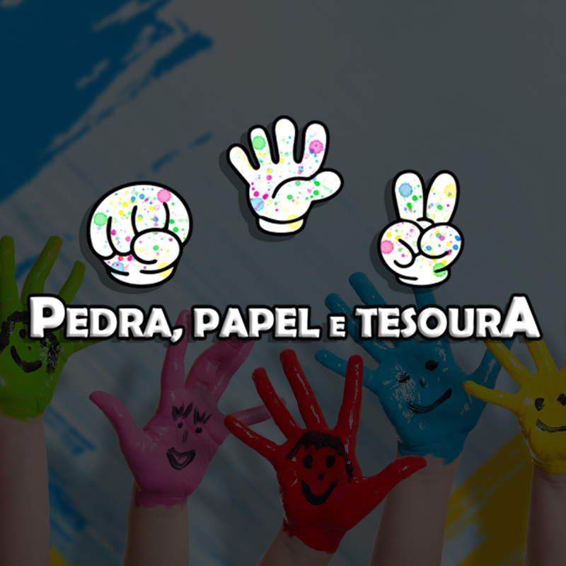 PEDRA PAPEL E TESOURA