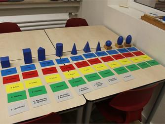 Montessori-Materialien kennenlernen