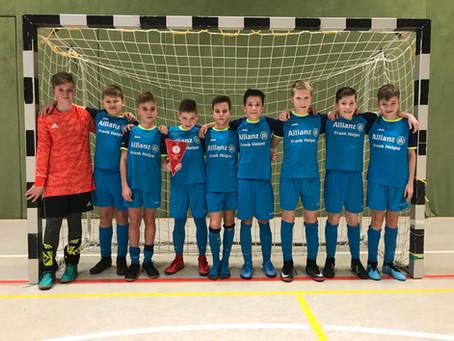 D1 Junioren: Unser Team wird Vizeregionalmeister im Futsal