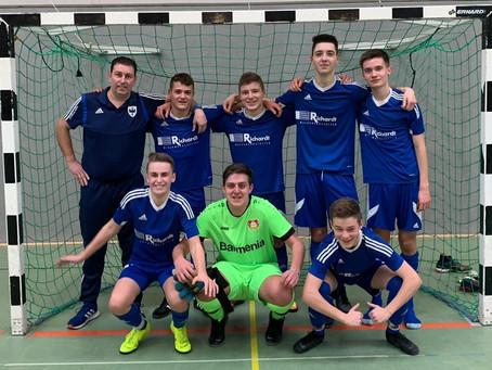 B-Jugend- Platz 3 bei der Futsal Hallenkreismeisterschaft
