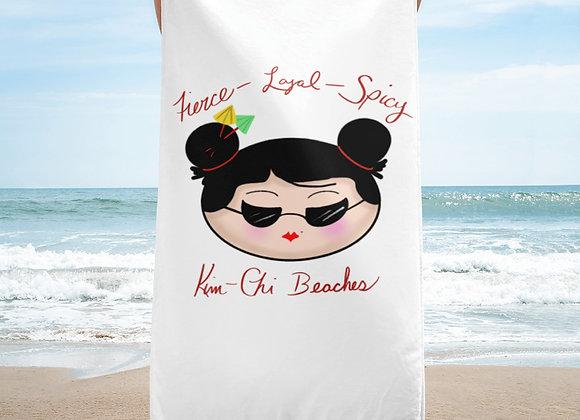 Kim-Chi Beaches Towel