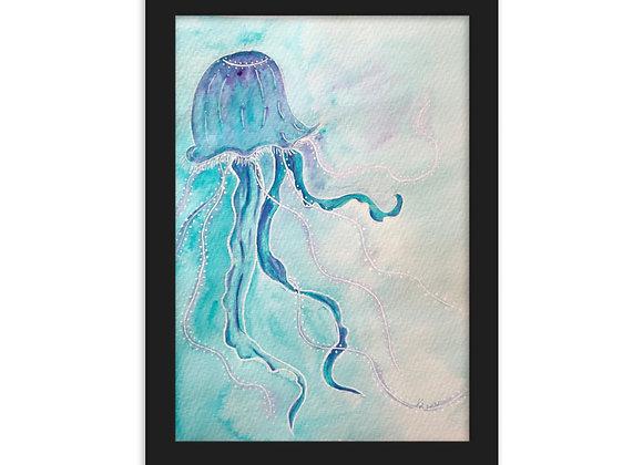 NEW   Jellyfish with White Acrylic